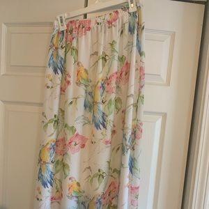Tommy Bahama Parrot Skirt